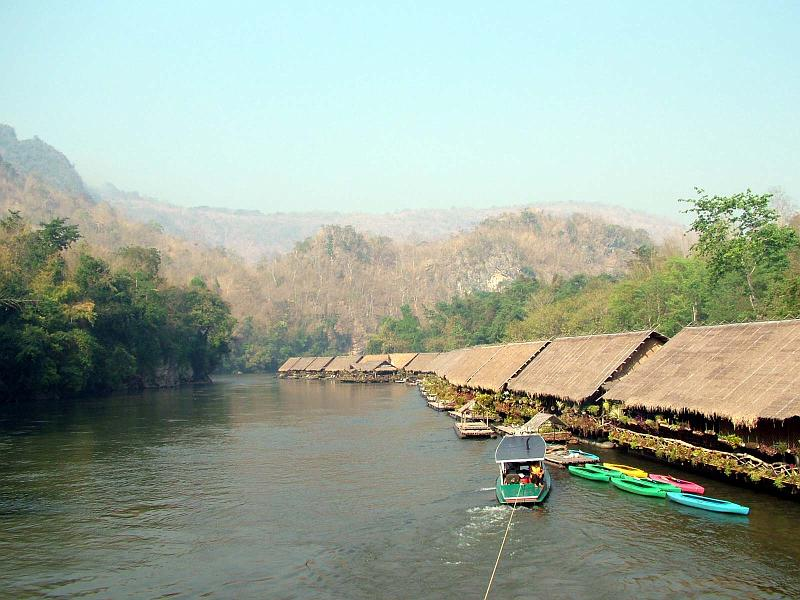 River Kwai 2 Day, Elephant, Train, Erawan falls (p5)