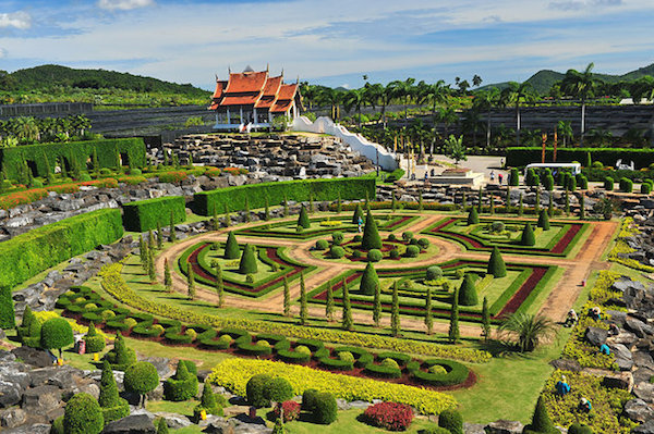 Nong Nooch Tropical Gardens Half Day